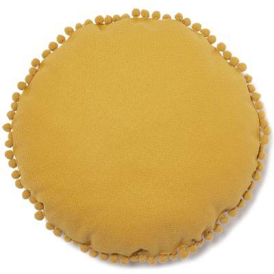 Coussin Sunny Farniente yellow (37 cm)  par Nobodinoz