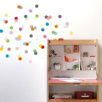 Stickers muraux 72 confettis  par Série-Golo