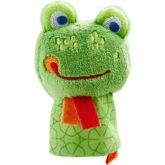 Marionnette à doigt Fabi la grenouille