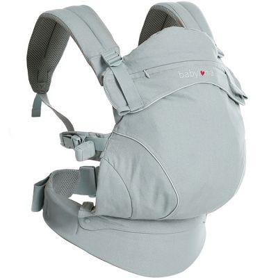 Porte bébé Flexia coton bio gris clair  par Babylonia carriers