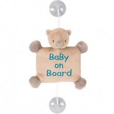 Bébé à bord Basile l'ours