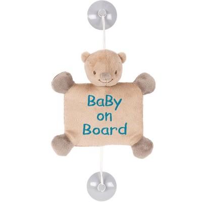 Bébé à bord Basile l'ours  par Nattou