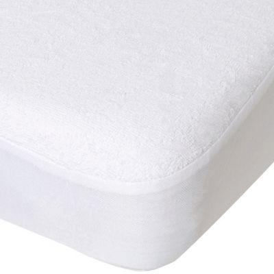 Protège matelas alèse Tencel blanc (70 x 140 cm)  par Domiva