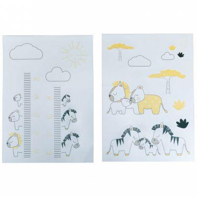 Sticker mural Pluche et Pompon (70 x 50 cm)  par Sauthon