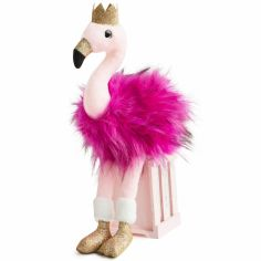 Peluche Flamant rose Girls & Glitter (80 cm)