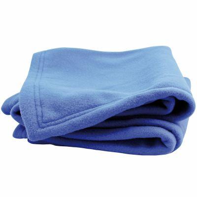couverture polaire polex bleu azur doux nid 100 x 150 cm par doux nid. Black Bedroom Furniture Sets. Home Design Ideas