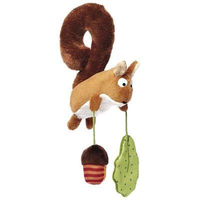 Peluche à suspendre écureuil  (16 cm) Sigikid