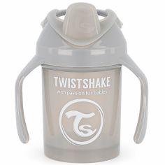 Tasse d'apprentissage gris pastel (230 ml)