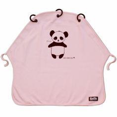 Protection pour poussette Baby Peace coton bio Panda rose