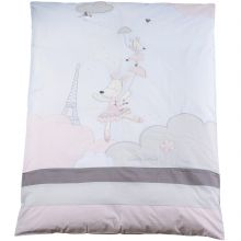 Housse de couette et taie d'oreiller Lilibelle (100 x 135 cm)  par Sauthon