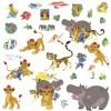 Stickers repositionnables Le Roi Lion (25 x 46 cm) - Room Studio