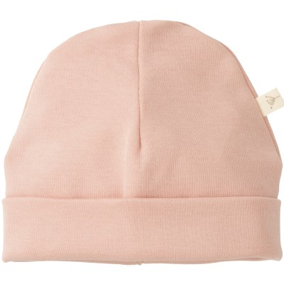 Bonnet de naissance rose  par Fresk