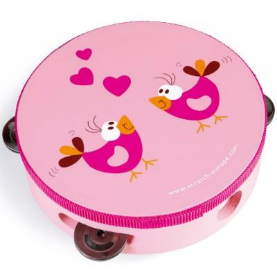 Tambourin love birds  par Scratch