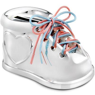 Tirelire Chaussure à lacets (personnalisable)  par Zilverstad