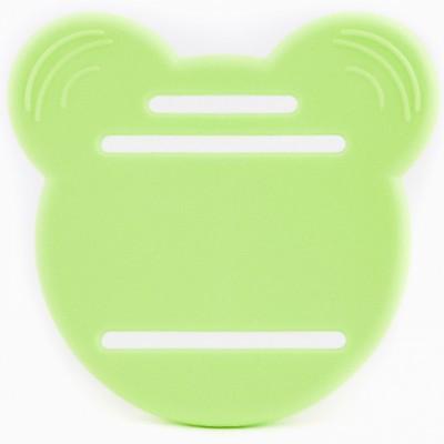 Anneau de dentition pour lange vert tendre  par Hochet à quenottes