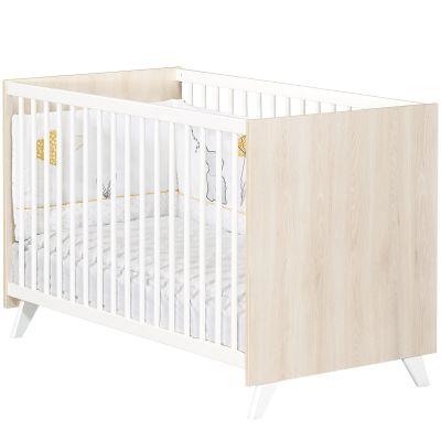 Lit à barreaux Scandi naturel (60 x 120 cm)  par Baby Price