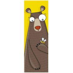 Tableau tête d'ours (20 x 60 cm)