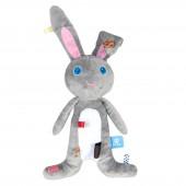 Doudou étiquette lapin Moochi - Snoozebaby