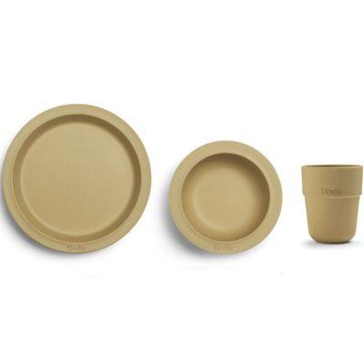 Coffret repas Gold en bambou (3 pièces)
