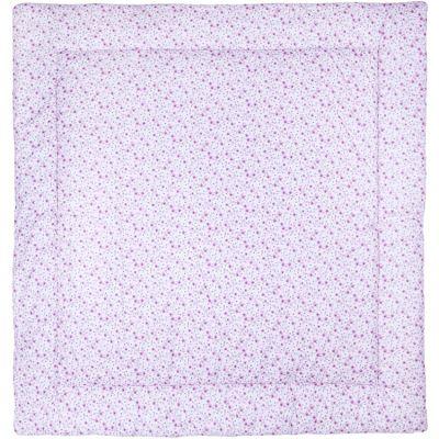 Tapis de jeu réversible Liberty rose (100 x 100 cm)  par BB & Co