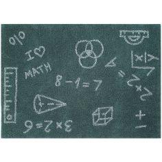 Tapis lavable mathématiques (140 x 200 cm)