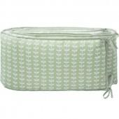 Tour de lit Feuille verte (pour lits 60 x 120 cm et 70 x 140 cm) - Fresk