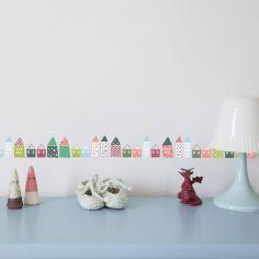 Frise adhésives Petites maisons (5 m)