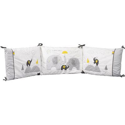 tour de lit sauthon au meilleur prix. Black Bedroom Furniture Sets. Home Design Ideas