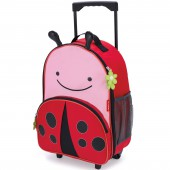 Valise trolley Zoo coccinelle rouge - Skip Hop