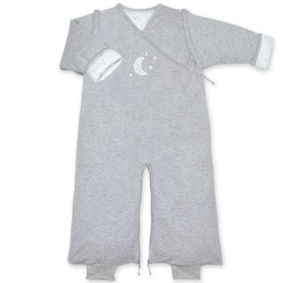 Gigoteuse légère pady jersey Stary gris chiné TOG 1 (70 cm)  par Bemini