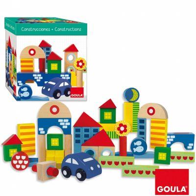 Blocs de construction avec voiture (40 pièces)  par Goula