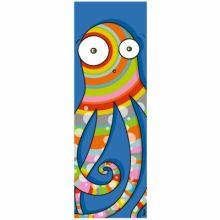 Tableau tête de pieuvre (20 x 60 cm)  par Série-Golo