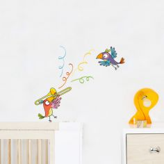 Stickers muraux Perroquet trompette