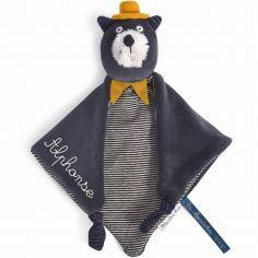 Doudou chat Alphonse Les Moustaches (personnalisable)
