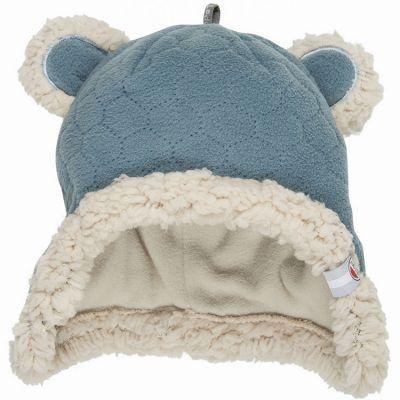 Bonnet ours bleu Botanimal (0-3 mois)  par Lodger