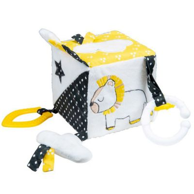 Cube d'activités Pluche et Pompon  par Sauthon