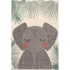 Tapis rectangulaire éléphant Junko (120 x 170 cm)