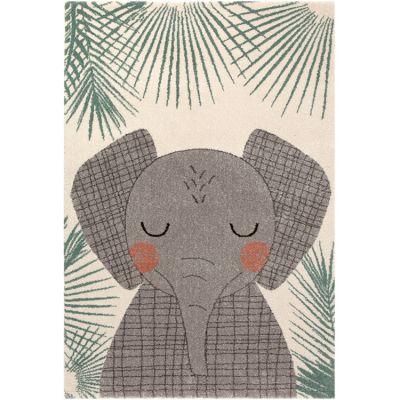 Tapis rectangulaire éléphant Junko (120 x 170 cm)  par Nattiot
