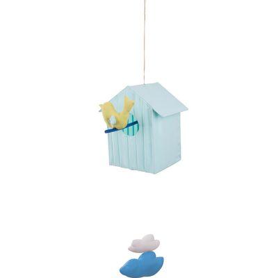 Cabane volante bleu clair (50 cm)  par L'oiseau bateau