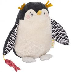 Peluche Papa Pingouin Les Nanouks (19,5 cm)