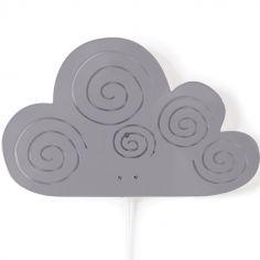 Applique murale nuage gris