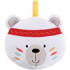 Peluche musicale connectée Bluetooth ours indien