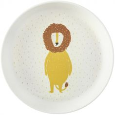 Assiette plate Mr. Lion