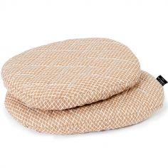 Coussins pour chaise haute Tibu Diamond toast