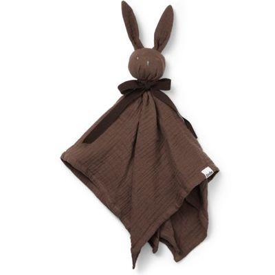 Doudou plat lapin Blinkie Coco chocolat  par Elodie Details