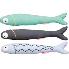 Lot de 3 peluches Poisson Lune (50 cm)