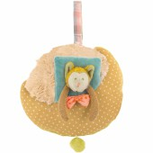 Peluche musicale loup Les Tartempois (31 cm) - Moulin Roty
