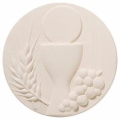 Plaque murale ronde Communion