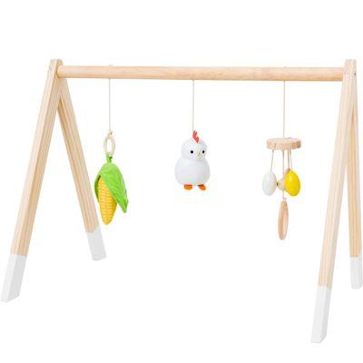 Arche de jeux en bois Ferme  par Little Big Friends