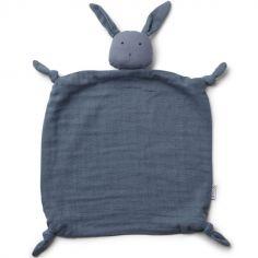 Doudou plat Agnete Rabbit blue wave